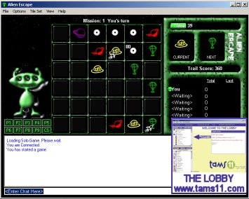Screenshot of Alien Escape