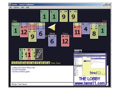 Tams11 Snerks screen shot