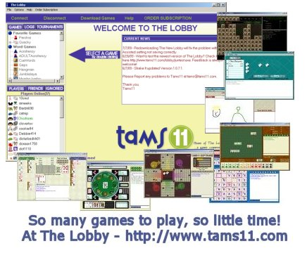 Tams11 Lobby full screenshot