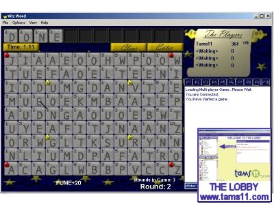Screenshot of Wizword